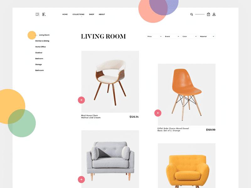 Furniture Collection by Giga Tamarashvili