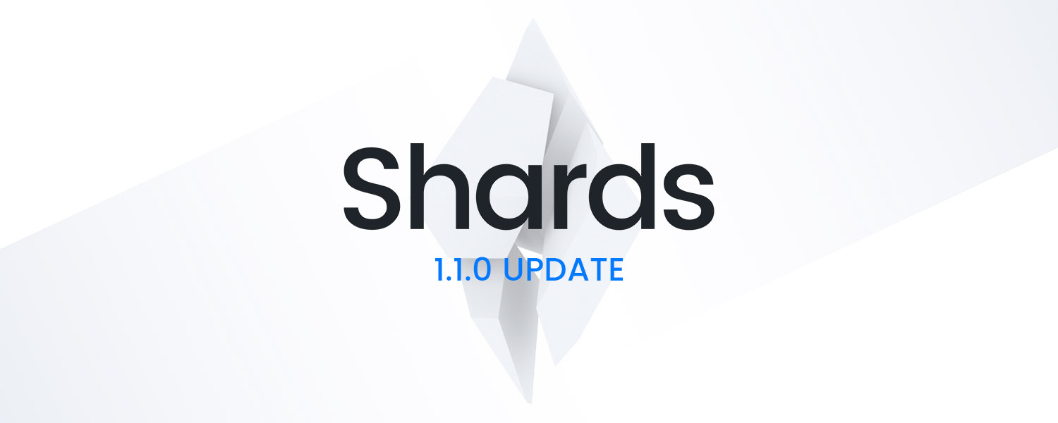 Shards 1.1.0 Update – Relicensing and Extras