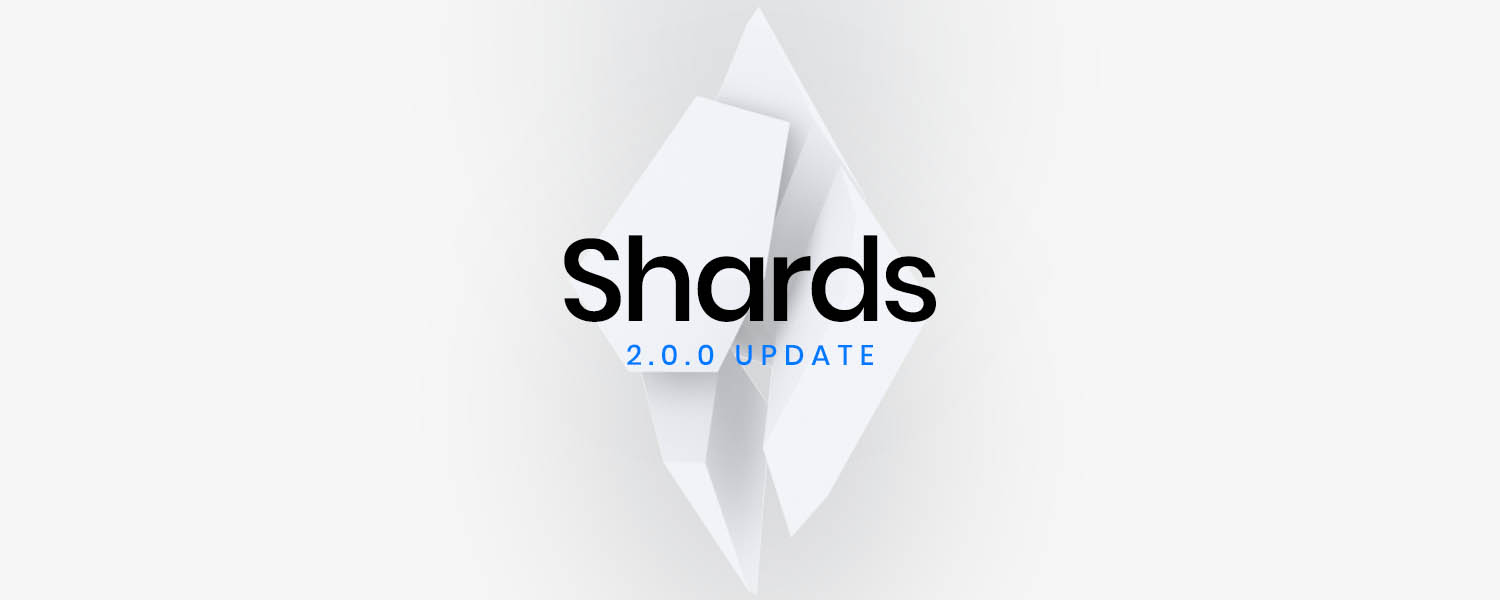 Product Update: Shards 2.0.0 – Bootstrap 4 Final Support