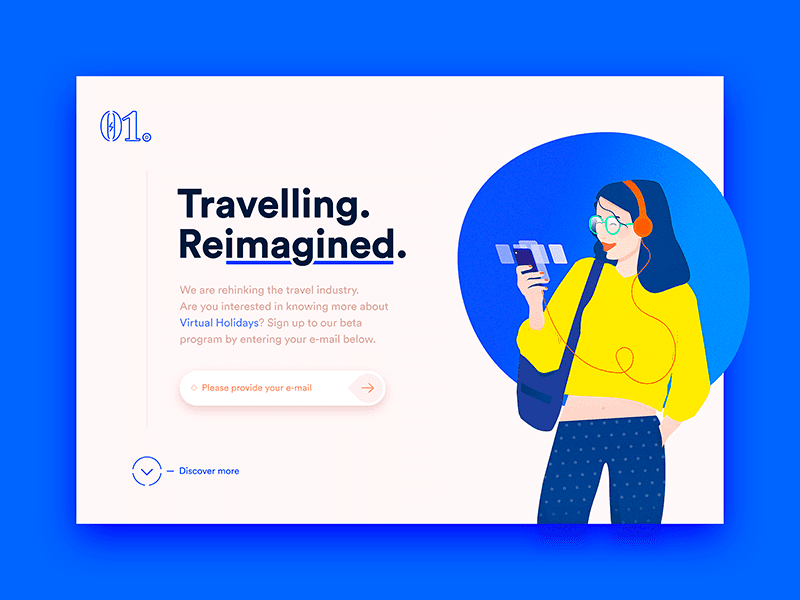 Travel page by Jesper Dahlqvist