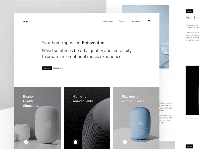 whyd - Your home speaker. Reinvented. by Adrian Madacs
