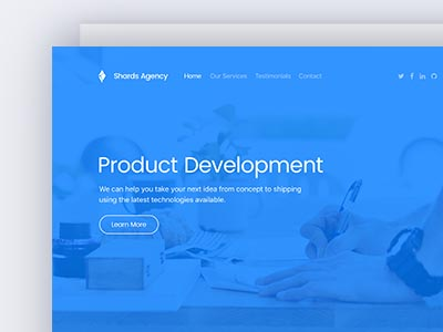 shards demo a modern ui toolkit for web makers